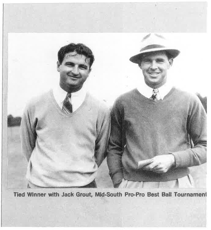 1938 JG & Picard @ Mid-South 4-Ball